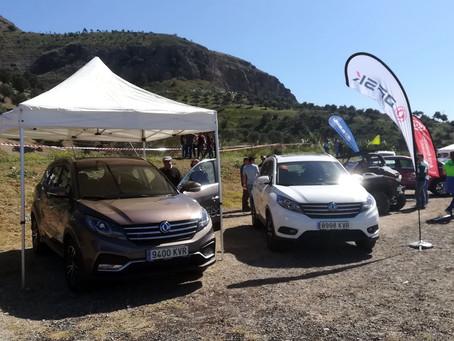 DFSK estará presente con el modelo SUV 580 en las jornadas de entrenamiento Extreme 4x4 en Huelva