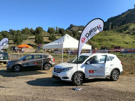 DFSK Málaga muestra el nuevo SUV 580 en el Campeonato Extremo 4x4 de Andalucía Pizarra 2020