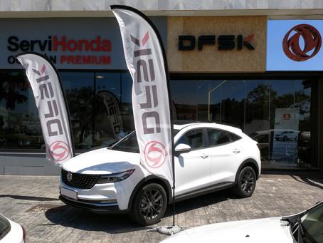 El nuevo SUV F5 llega a las instalaciones de DFSK Málaga