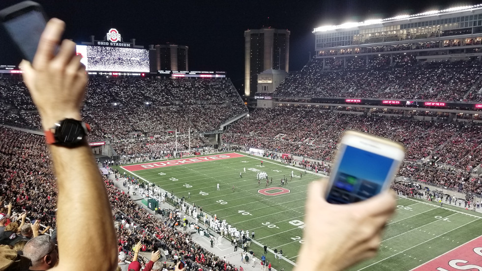 What was the Loudest Ohio State Football Game of the Millennium?