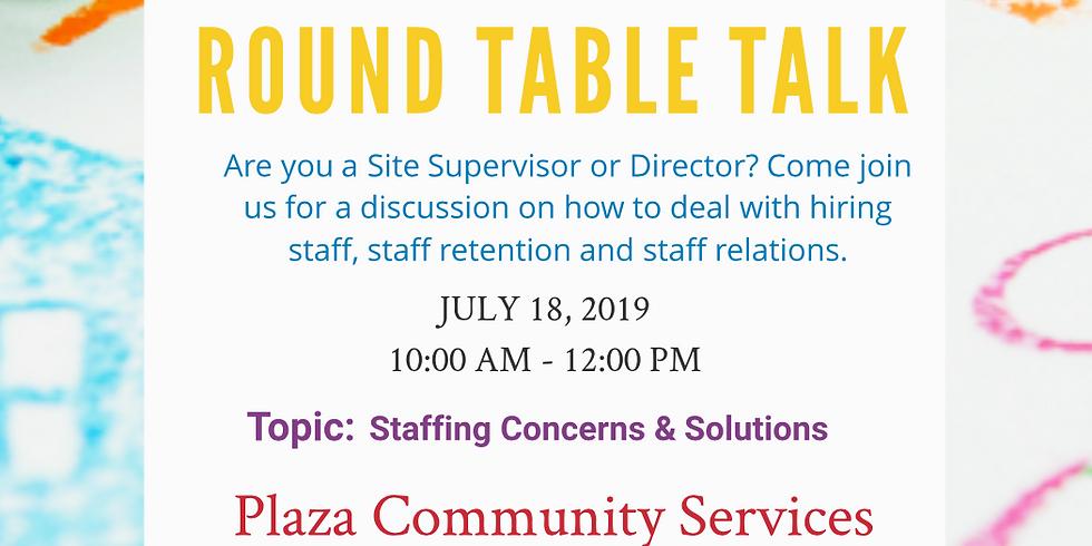 Directors Round Table Talk