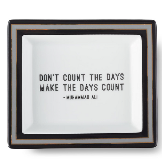 Wise Sayings Desk Tray