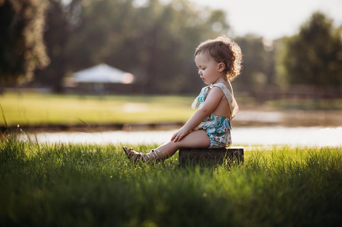 Child Photographer - Baby Photographer - Milestone Photos - 18 month Portraits
