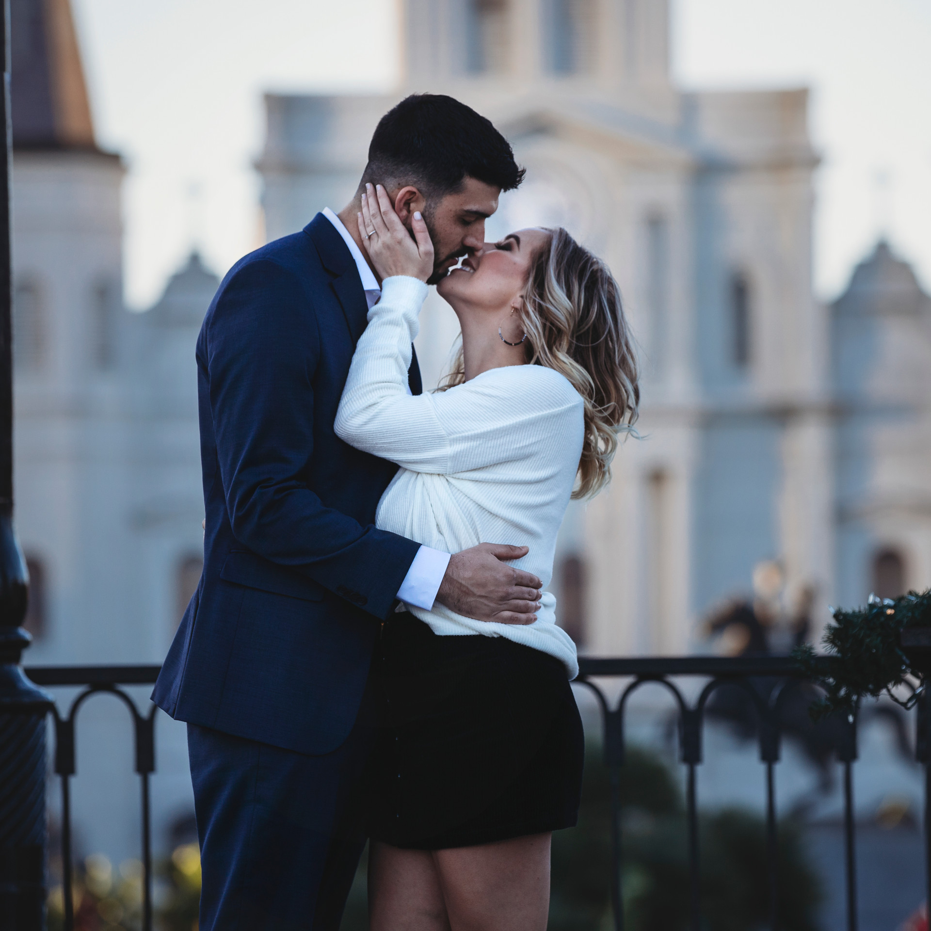 Couples Photo - Engagement Photographer - couples pictures - french quarter photo shoot