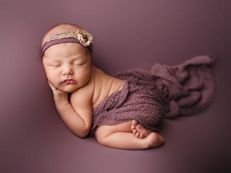Rosalina Jean Newborn Portraits