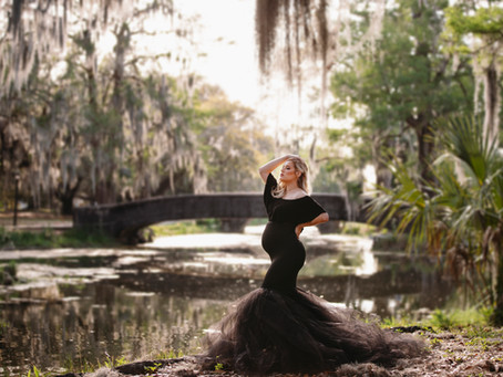 Gorgeous City Park Maternity Session
