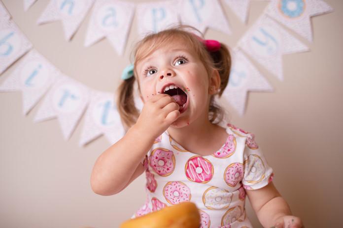 Cake Smash Photographer - Milestone Photos - 2 year Portraits