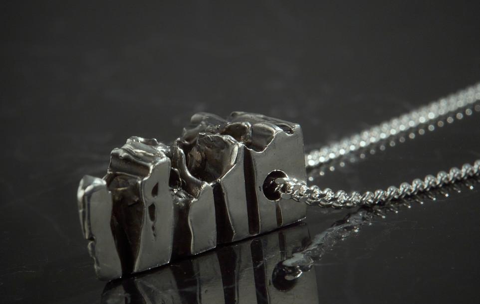 Lava Sclice Pendant