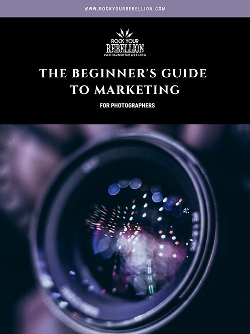 Beginner's Guide to Marketing (for Photographers)