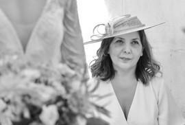 Wedding ceremony at Treseren