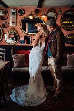 Exclusive hire wedding venue for 20