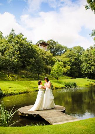 Lorraine & Rachel Intimate wedding Devon