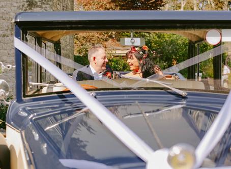 REAL WEDDING - at A Stunning Autumn Elopement Idea