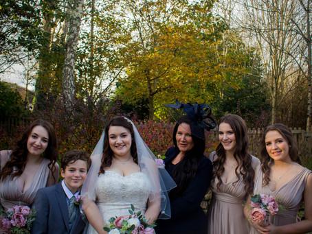 An autumn wedding at Cosawes Barton