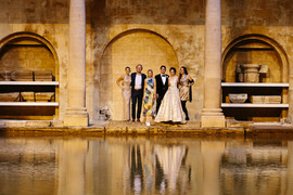 Intimate wedding, Bath A Thing Like That Baths group shot.JPG