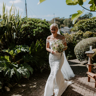 Ellie & Danny's elopement wedding by the sea by Thomas Frost Photography