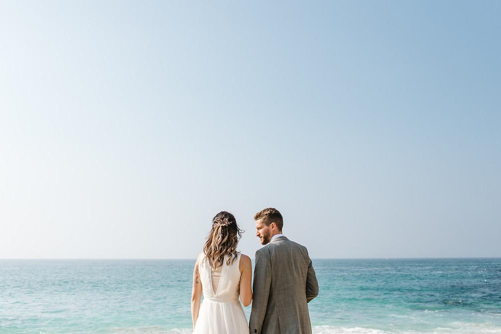 how to get married on a beach