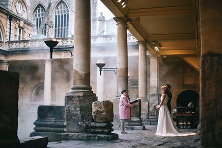 Intimate wedding Bath Amy Sanders Roman Baths (2).jpg