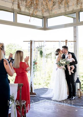 Small wedding at Tree Top Escape