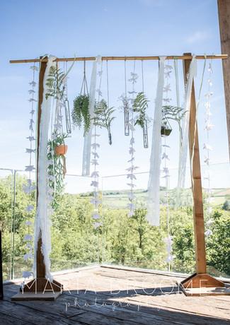 Intimate Wedding at Tree Top Escape