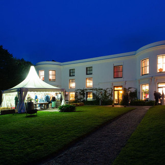 Small wedding venue by the sea, Porthpean House