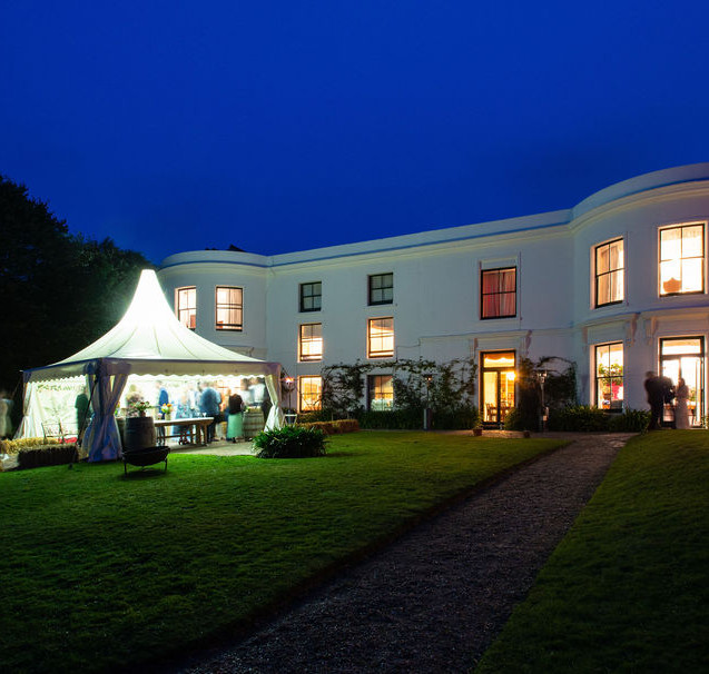 Small wedding venue by the sea, Porthpean House