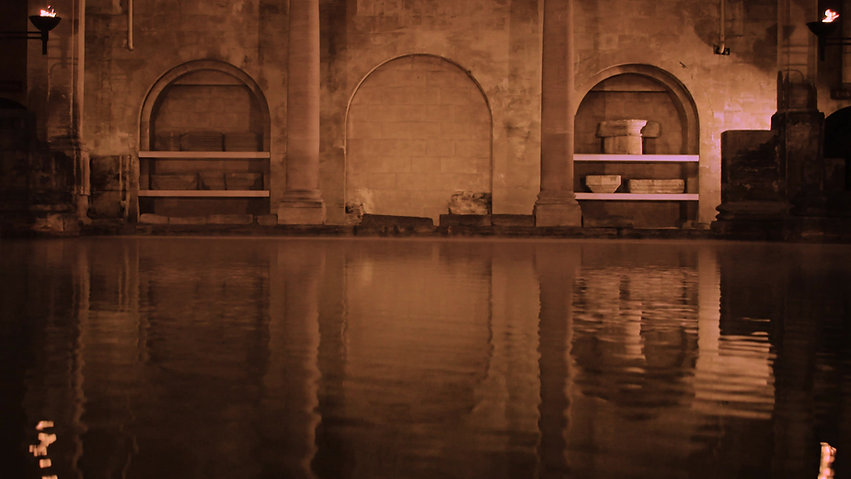 A virtual tour of the Roman Baths, a small wedding venue Bath.