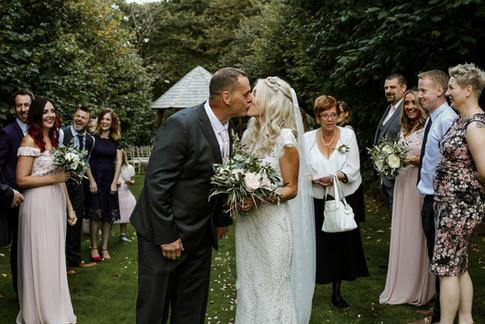 Intimate family weddings