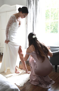 Bridal elegance at Treseren