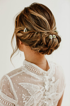 Bridal styling by So Buff