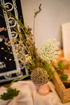 Simple, relaxed wedding design and styling at The Lamb Inn at Sandford