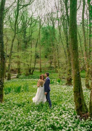 Magical woods at Millbrook Elopement Venue