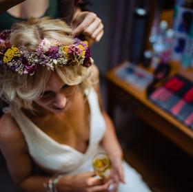 Intimate wedding Devon