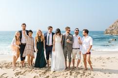Beach at Chypraze Wedding Barn