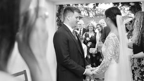 A Petite Wedding at Treseren