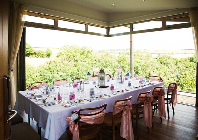 Fine Dinning at The Nest Intimate wedding Tree Top Escape