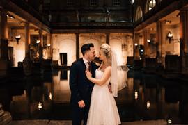 Intimate wedding at Roman Baths wedding3 Amy Sanders.jpg