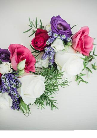 Wedding flowers at The Rosevine