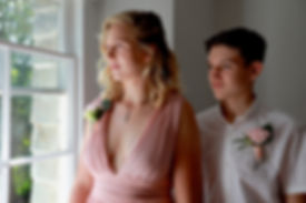 Small family wedding at Treseren