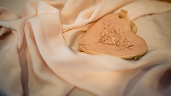 Intimate wedding day styling ay The Lamb Inn at Sandford