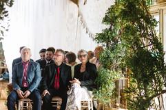 Small wedding at Chypraze Wedding Barn