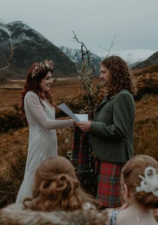 Isla and Greg's Intimate Wedding