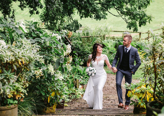 Country luxe elopements are perfect at millbrook