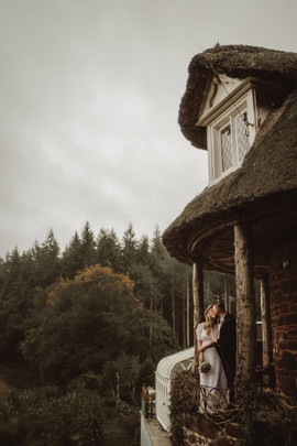 Forest elopement wedding venue