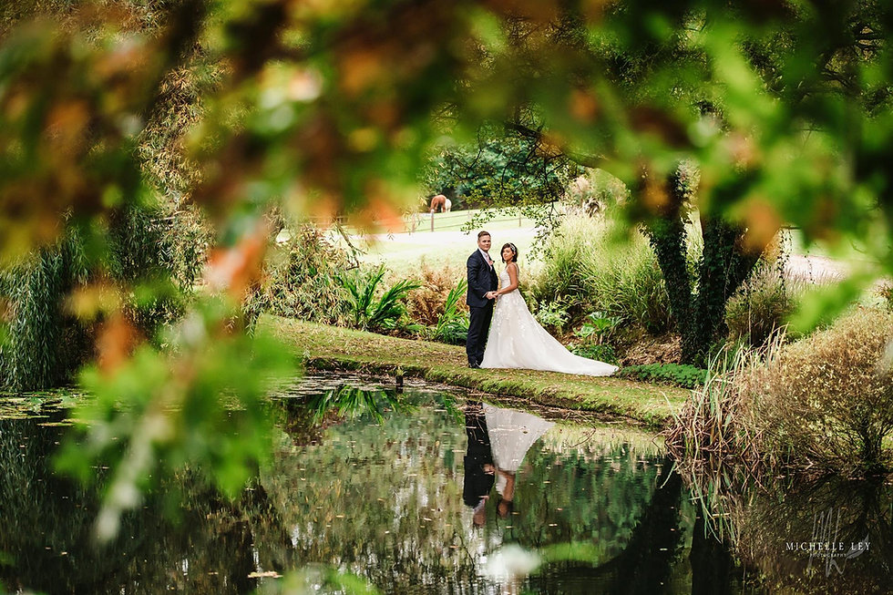 So many epic backdrops for wedding photography at Millbrook