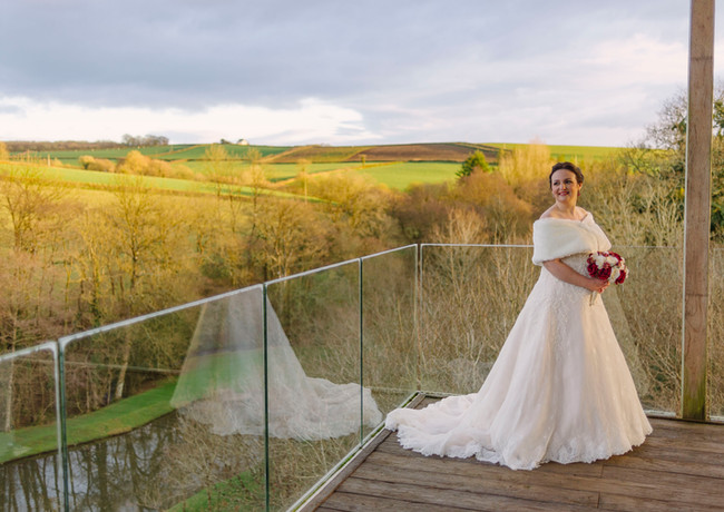 Charlotte & Chris Intimate Wedding at Tree Top Escapes