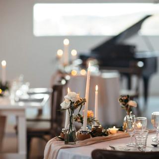 Intimate wedding ceremony Camel Studio