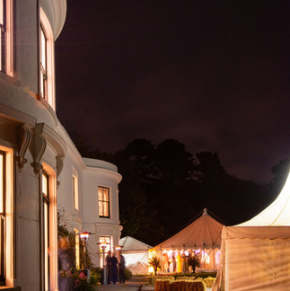 Intimate wedding by the sea at small wedding venue Porthpean House