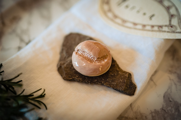 Dining styling details at Intimate wedding pub The Lamb at Sandford