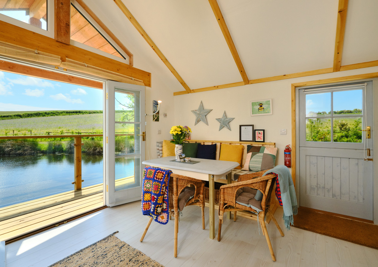 Inside Boat House at Pengelly Retreat